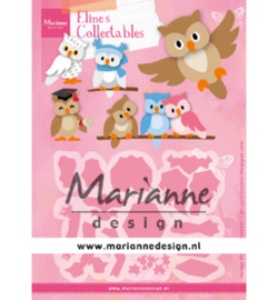 Marianne Design-collectable- Eline's Owl-COL1475