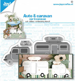 Joy!Crafts - snijmal - Auto / caravan - 6002/1480