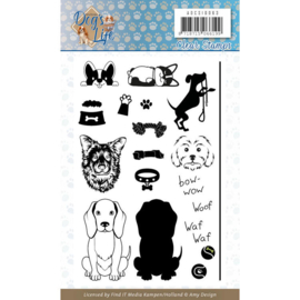 Amy Design-Dogs life- clearstempel- ADCS10063