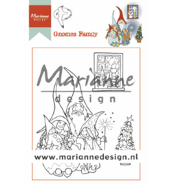 Marianne Design- clear stempel-Hetty's Gnomes family-HT1650