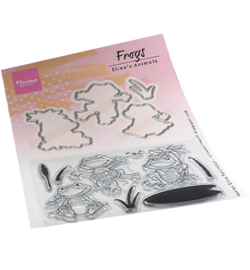 Marianne Design - Clear Stamp - Frogs - EC0186