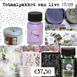 Voordeelpakket 1 - live 17/09- art journal