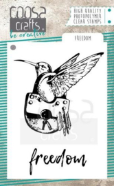 COOSA Crafts- clearstamps A7 - Freedom COC-059