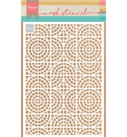 Marianne Design-Mask Stencil-Mosaic tiles-PS8035