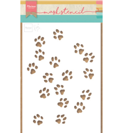 Marianne Design-Mask Stencils Tiny's cat paws-PS8029
