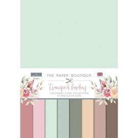 Paper Boutique - Tranquil gardens Colour card collection - PB1413