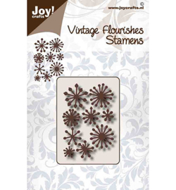 Joy!Crafts - Snijmal -  Noor- VF - Meeldraden - 6003/0096