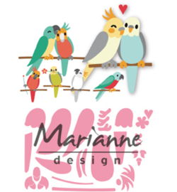 Marianne Design-Collectable Eline's birds-COL1465