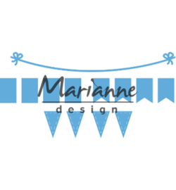 LR0581 Marianne Design Creatable Bunting Banners