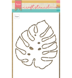 Marianne Design - Craft Stencil - Monstera leaf - PS8066