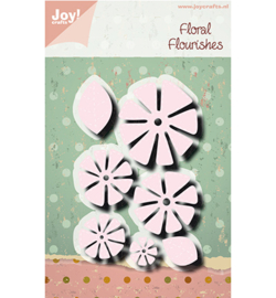 Joy! Crafts - Snijmal -  Bloem stikdesign - 6002/1314