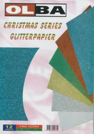 Glitterpapier - voordeel totaalpakket