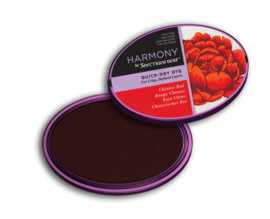 Spectrum Noir - Inktkussen - Harmony Quick Dry - Chinese Red (Chinees rood)