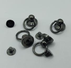 Metalen pin - tin - 4 stuks