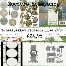 Facebook live 23 september