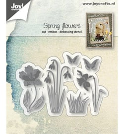 Joy!Crafts-Snij/embos-Lentebloemen-6002/1280