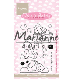 EC0176 Clear Stamp Eline's Cute Babies
