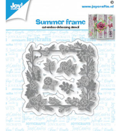 Joy!Crafts - Snijmal - Zomerframe - 6002/1433
