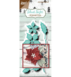 Joy!Crafts - Snijmal - Poinsettia -  6002/1493
