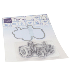 Marianne Design - Clear Stamp - Hetty's Tractor - HT1654