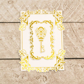 Couture Creations- snij/foil/embos- Nesting Treasured Frames-CO726468