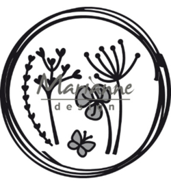 Marianne Design - Craftable - Doodle circle - CR1468
