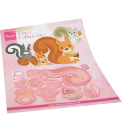 Marianne Design - Collectable - Eline's squirrel and skunk - COL1500