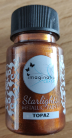 Imagination crafts - starlight verf - topaz