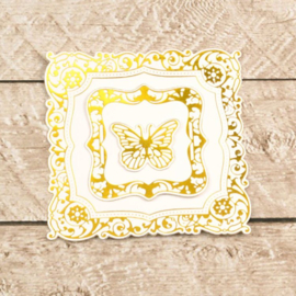 Couture creations-snij/foil/embos-Decorative Nesting Butterfly Frames-CO726467