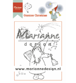 Marianne Design-clear stempel-Hetty's Gnomes Christmas-HT1649