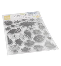 Marianne Design - Clear Stamp - Sea Shells - CS1061