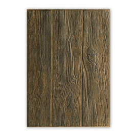Sizzix 3-D Embossing Folder - Wood Planks- 662718 -Tim Holtz