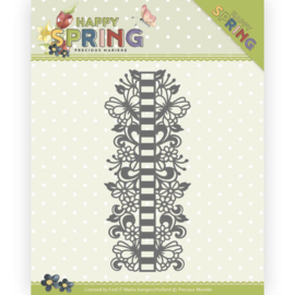 Snijmal - Precious Marieke - Happy Spring - Ribbon Border-PM10147