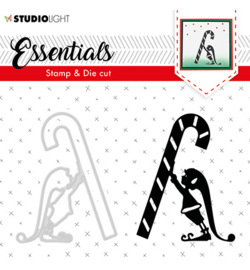 Studio Light-  snijmal en stempel- Essentials Christmas Silhouettes no. 33- BASICSDC33