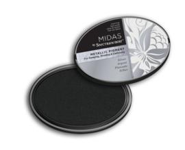 Spectrum Noir - Inktkussen - Midas Metallic - Zilver