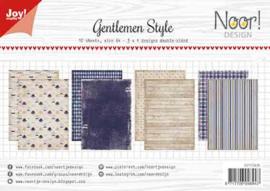 Joy!Crafts-papier- Gentlemen Style - 6011/0636