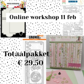 Online workshop 11 februari