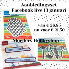 Facebook live 13 januari