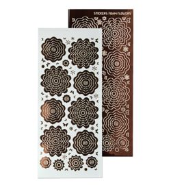 Leane Creatief 615879 - Sticker 8. mirror brown