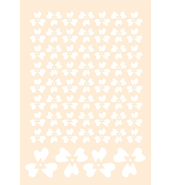 Joy!Crafts 6002/0882 Polybesastencil - Viooltjes
