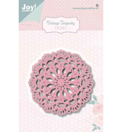 Joy!Crafts - Snijmal - Noor - Tea Party Doily - 6002/1465