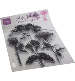 Marianne Design - Clear Stamp - Floral Beauty - CS1083