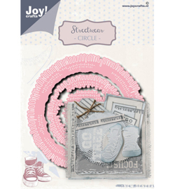 Joy!Crafts - Snijmal - Streetwear circle - 6002/1497