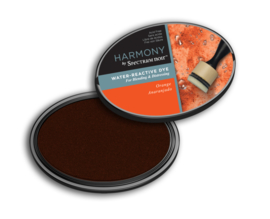 Spectrum Noir - Inktkussen - Harmony Water Reactive - Orange (Oranje)