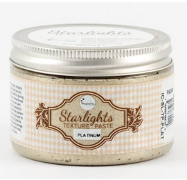 Imagination crafts - starlight texture paste - platinum