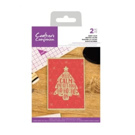 Crafter's Companion - stempel - Keep Calm - CC-CA-ST-KPC