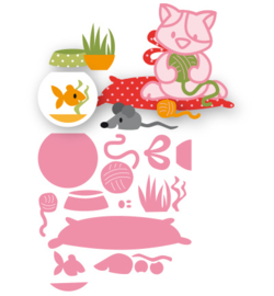 Marianne Design - Collectable - Eline's cat accessories - COL1486