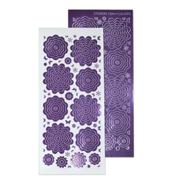 Leane Creatief 615800 - Sticker 1. mirror violet