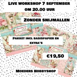 Pakket voor workshop 7 september ZONDER snijmallen