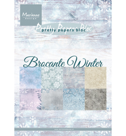 Marianne Design - Papierblok - Brocante Winter - PK9165